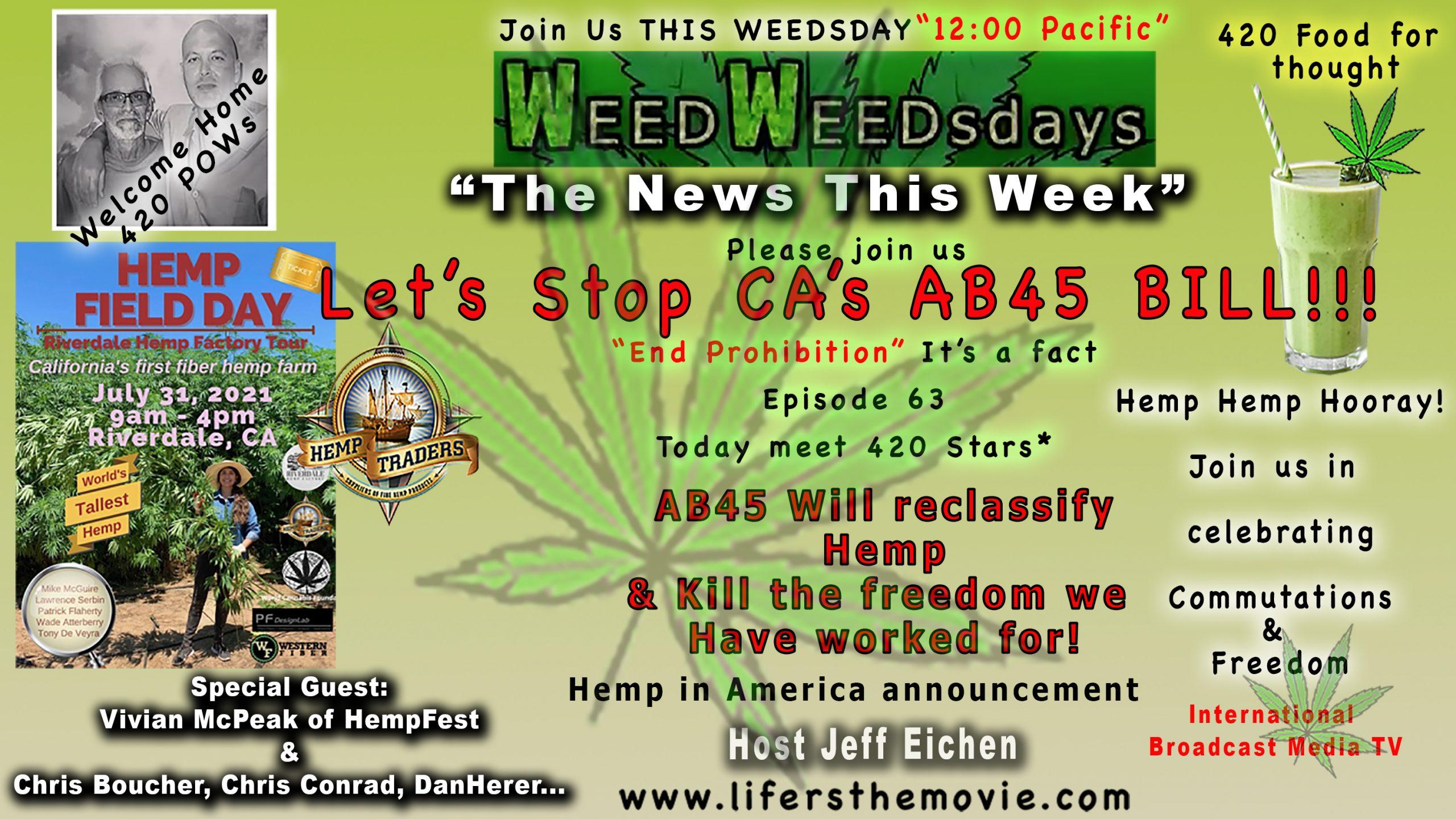 """""""Weed Weedsdays""""Episode 63"""